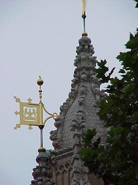 Ornate Turret - Parliament Building.JPG