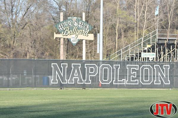 Baseball Northwest at Napoleon for 04-13-2021