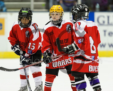 Paisley PeeWees appear at Clan game Feb 2013
