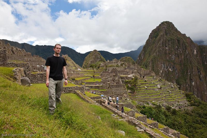 Me at Machu Picchu, Peru.