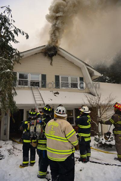 ROXBURY, NJ 14 LINCOLN DR. HOUSE FIRE JANUARY 25, 2014