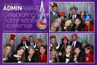 Denver Admin Awards Gala - October 9, 2018