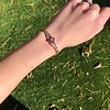 .86ctw Art Deco Ruby and Diamond Link Bracelet 8