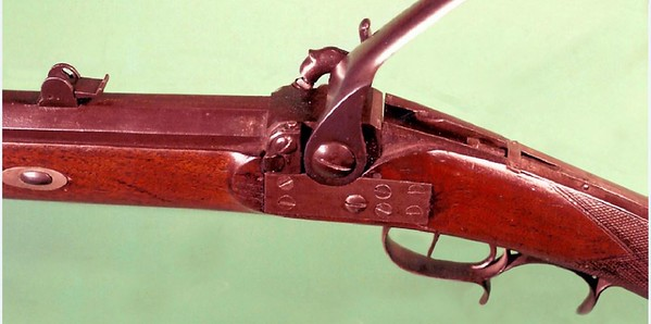 Patent half stock sporting rifle (NSN, MLT) 3 (Andrew Lustyik Collection)