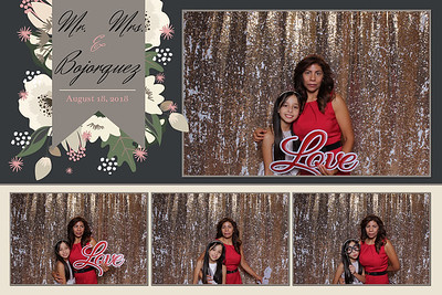 Mr. & Mrs. Borjoroquez wedding