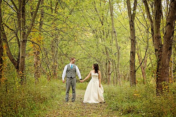 Tiffany & Justin Wedding Portraits