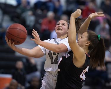 2020.02.17 Girls Basketball: Heritage @ Dominion