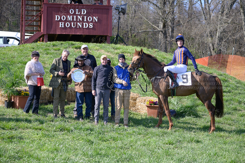 9th Race Div 2 The High Thicket Novice Rider Flat