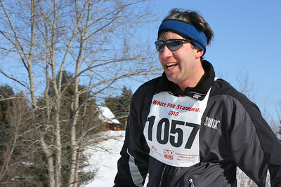 2010-02-06 White Pine Stampede - out on the course with the 20K'ers