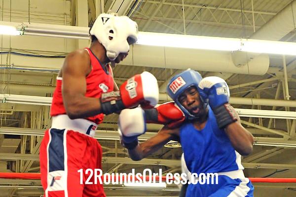 Bout 8 Kemp Tarver -vs- Laniere Blair, Junior, 125 lbs.