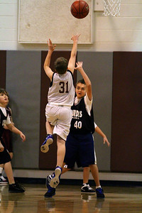 6th Grade Boys • St. Vincent's vs Lourdes Magna 12-8-12