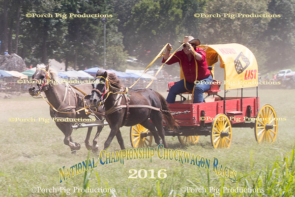 Saturday Landrush  2016 National Championship Chuckwagon Races