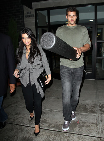 2011-08-30 - Kim Kardashian and Kris Humphries