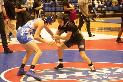 2020 Wrestling duals Bremen vs Carrollton Jaxon Chance