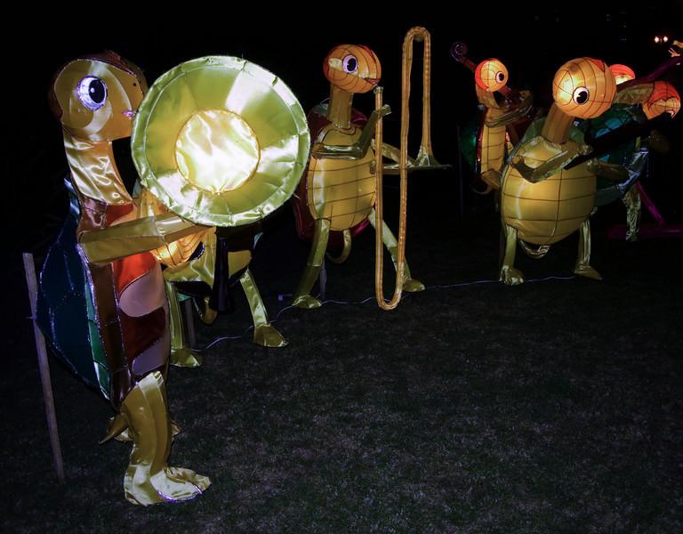 Turtle bandLantern FestivalAlbert ParkAucklandNew Zealand - 2 Mar 2007