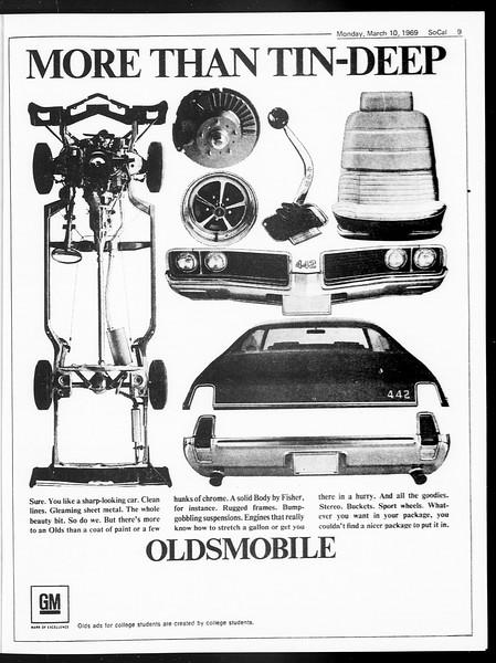 SoCal, Vol. 60, No. 86, March 10, 1969