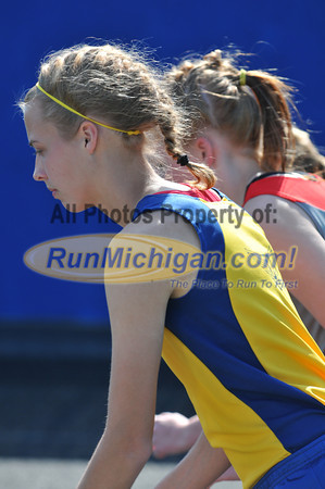 Girl's 3200 Meter Relay - 2012 T&F Regional at Brandon