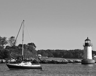 Lighthouses of Mass and Maine
