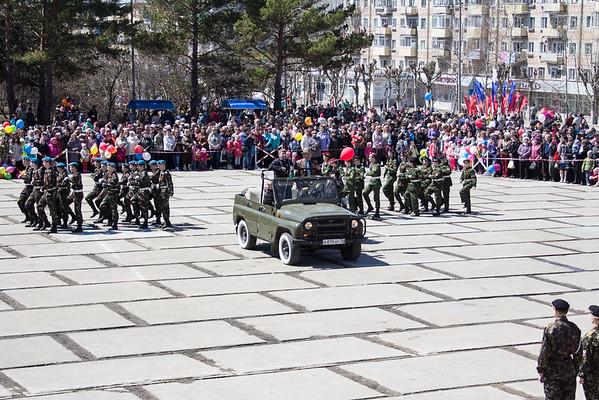 9 мая. День Победы в Амурске