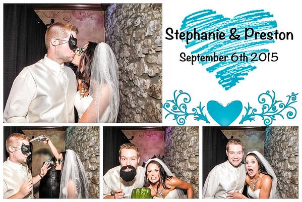 Stephanie & Preston Wedding Photo Booth