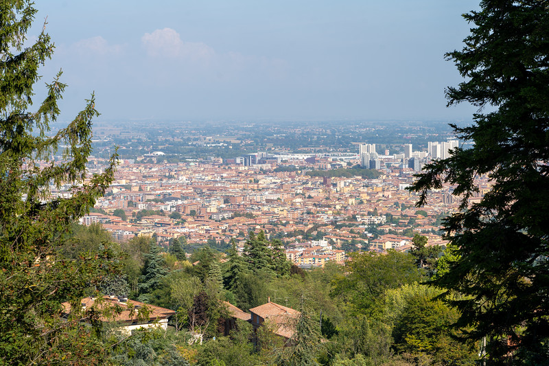 View of Bologna from San Luca