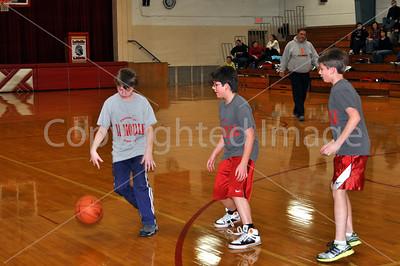La Moille-Ohio Girls and Boys Basketball Games, Girls Senior Night, Biddy Basketball. Jan. 3, 8, 10, 2013
