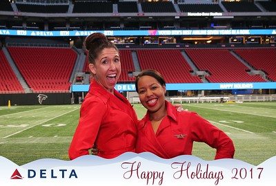 Delta Air Lines Holiday Party (12.13.17)