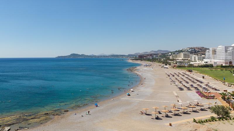 Faliraki beach / resort strip