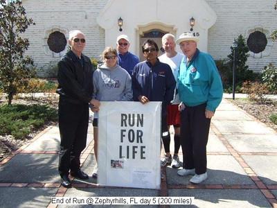 2010 West Coast Run for Life