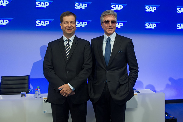 Pressekonferenz am 24.01.2017 bei SAP in Walldorf