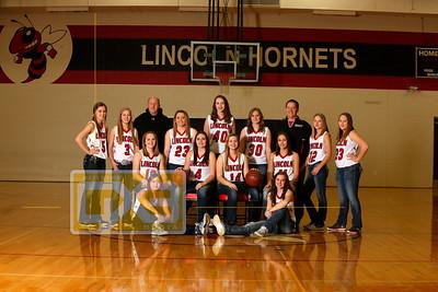 Lincoln girls' basketball GBB1617