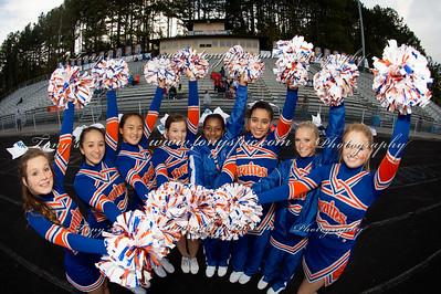 JV Cheerleaders @ Cass  Game 23 Oct 2014