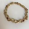 Vintage French Ruby & Diamond Serpent Bracelet 25