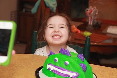 Livia's 3rd Birthday 2-13-2013