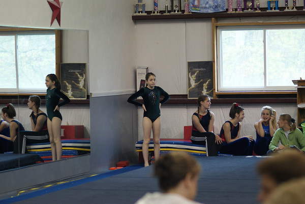 Bea at Gymnastics