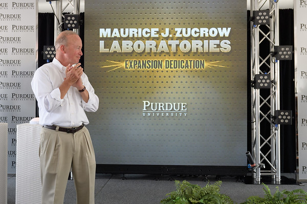 Zucrow Laboratories Expansion Dedication