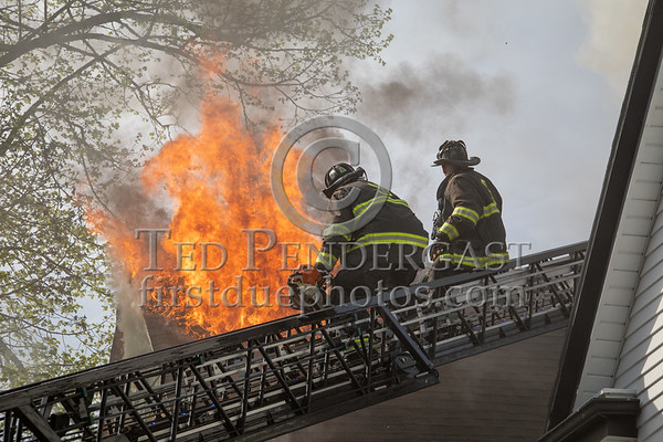 Somerville MA - 3 Alarms on Teele Avenue