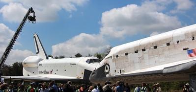 NASA Social (Discovery Arrival at NASM)