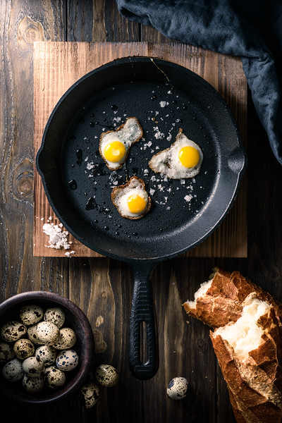 Fried Quail Eggs
