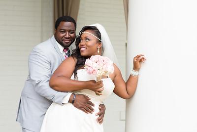 Terrica and Calvin Barlow III Wedding