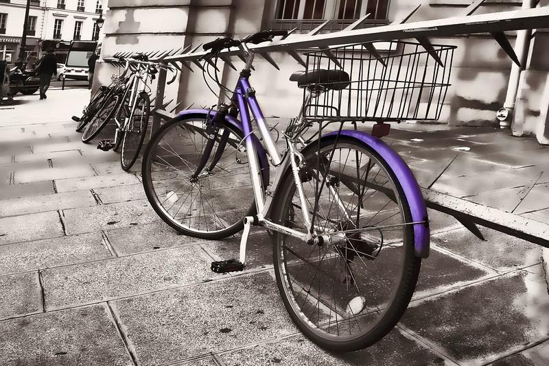 Paris purple bike B&W 0702.jpg
