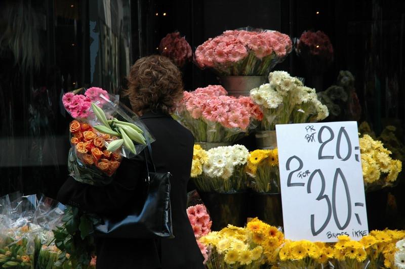 Flower Stall - Copenhagen, Denmark