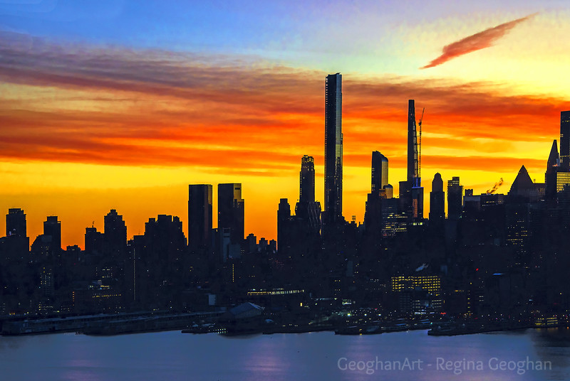 NYC - The Joy of a New  Day