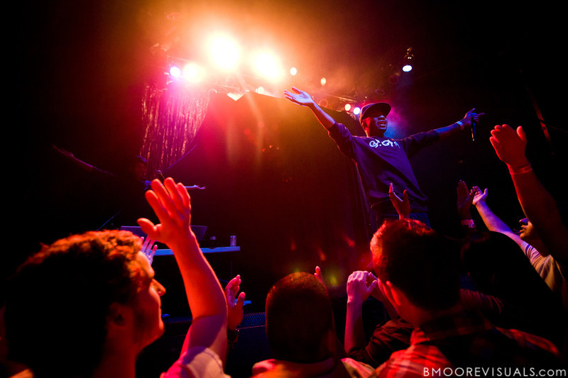 Young Obama (L) and Donnis perform on October 15, 2010 at State Theatre in St. Petersburg, Florida.