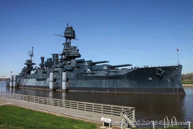 USS Texas - La Porte, TX