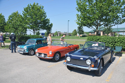 Lawrence All British Car Club Show 6-10-12