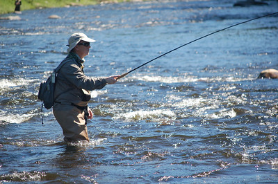 Fly Fishing, New Hampshire