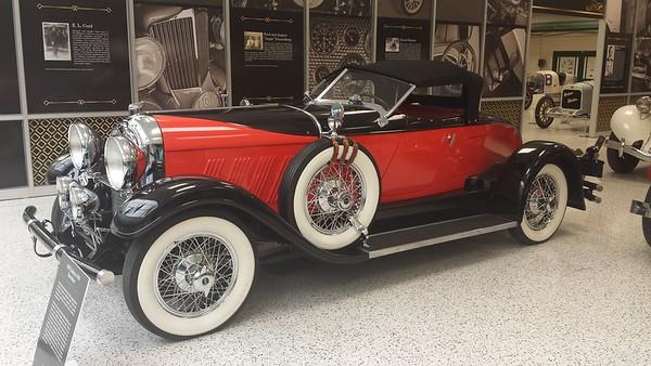 Indiana Automobiles - IMS Museum - 31 Dec. '16