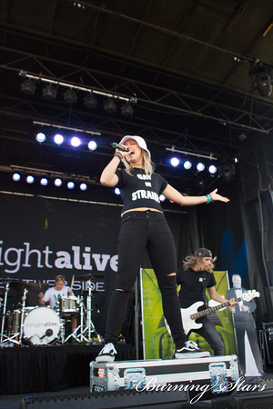 Tonight Alive @ Desert Breeze Park (Las Vegas, NV); 3/29/14