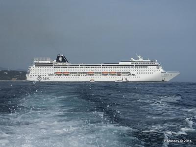 MSC SINFONIA Monaco 7 Apr 2014